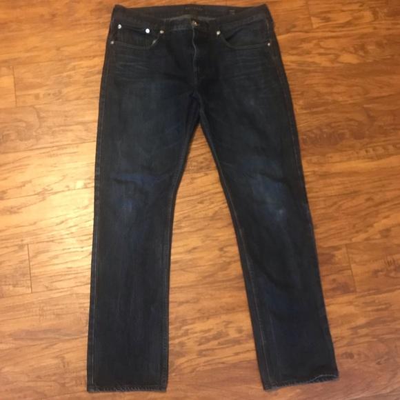 Bullhead Other - Bullhead Dark Wash Slim Fit Men's Jeans